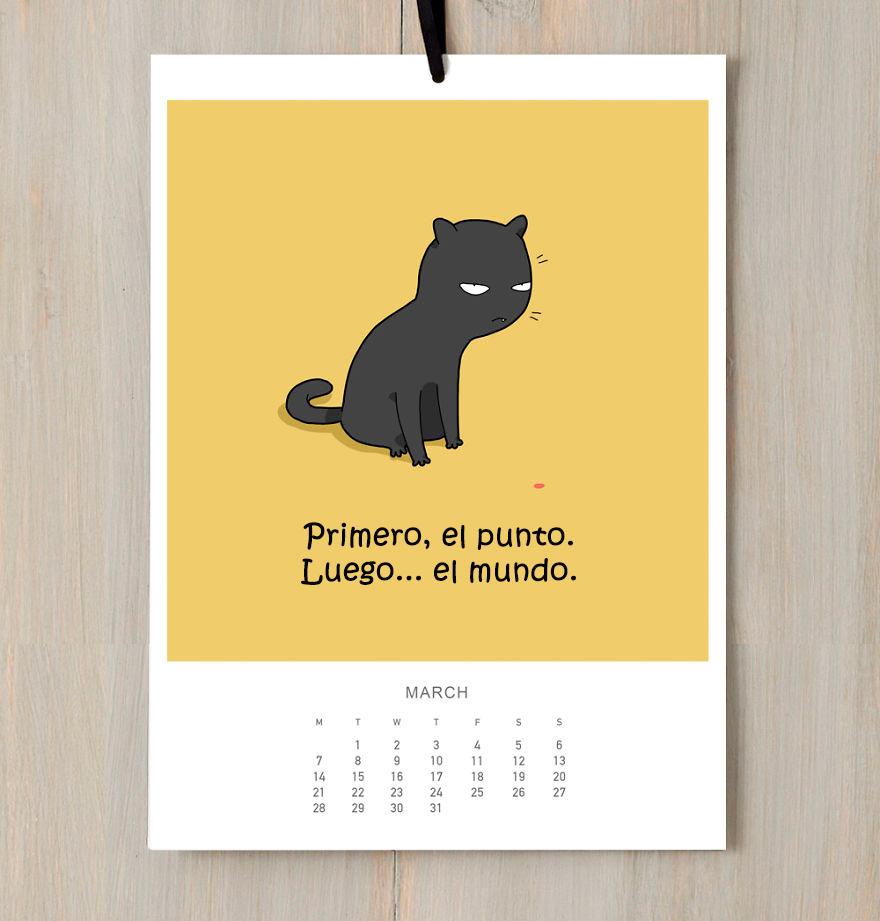 calendario gatuno 3