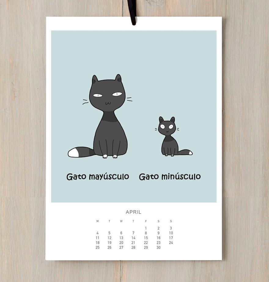 calendario gatuno 4