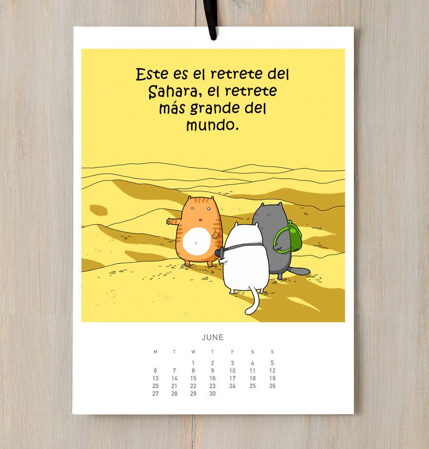 calendario gatuno 5
