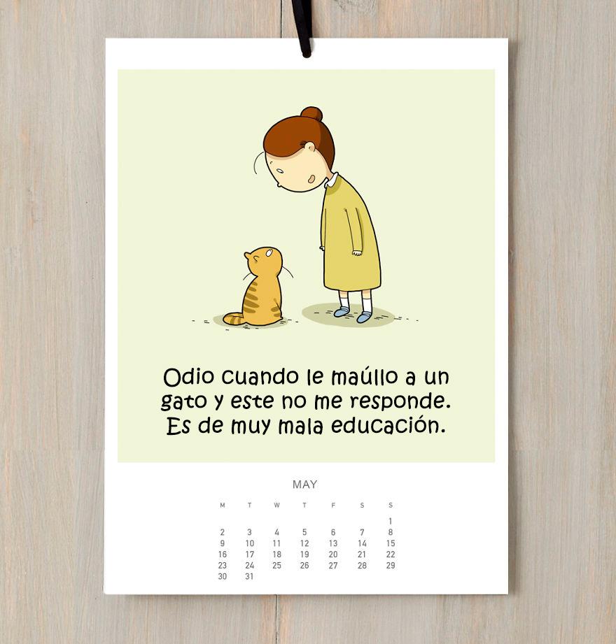 calendario gatuno 6