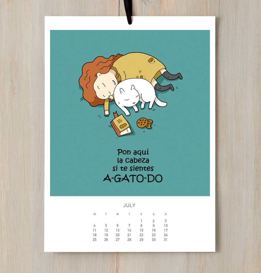 calendario gatuno 7