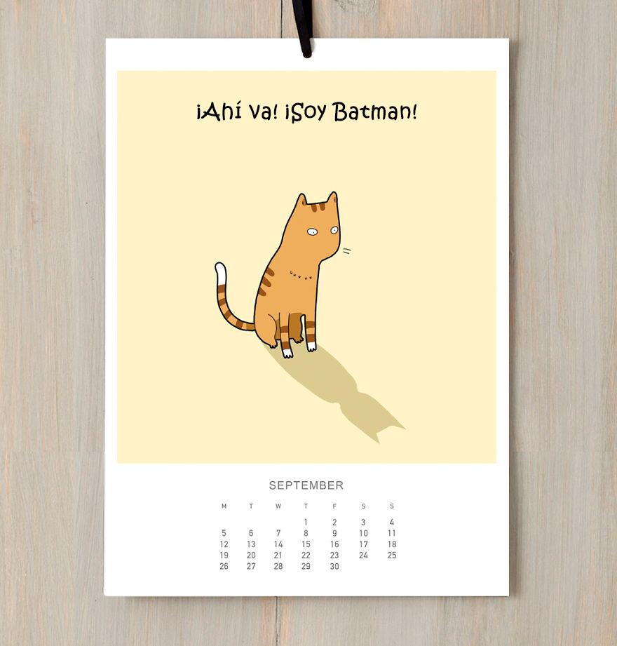 calendario gatuno 9
