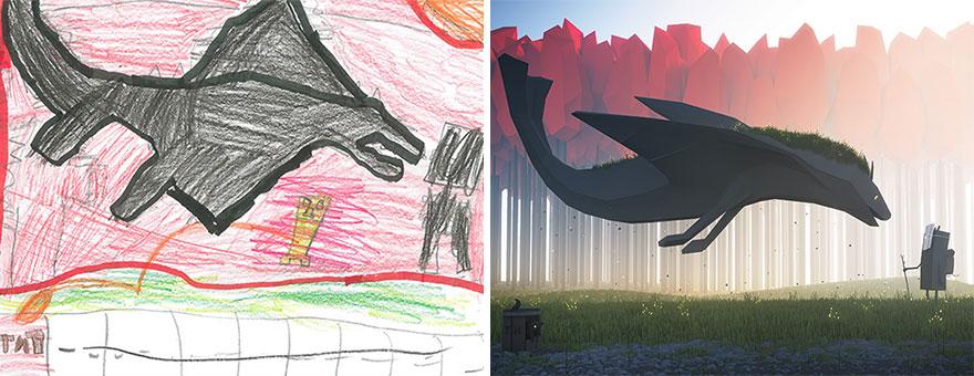 dibujos nenes 1