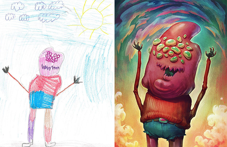dibujos nenes 11