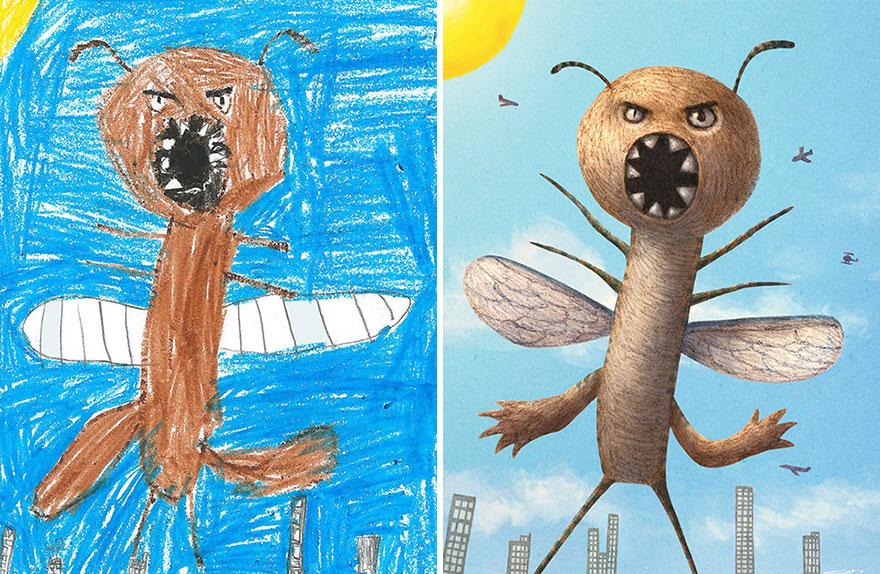 dibujos nenes 14