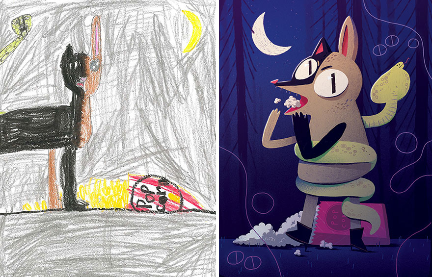 dibujos nenes 18