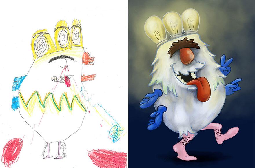 dibujos nenes 19