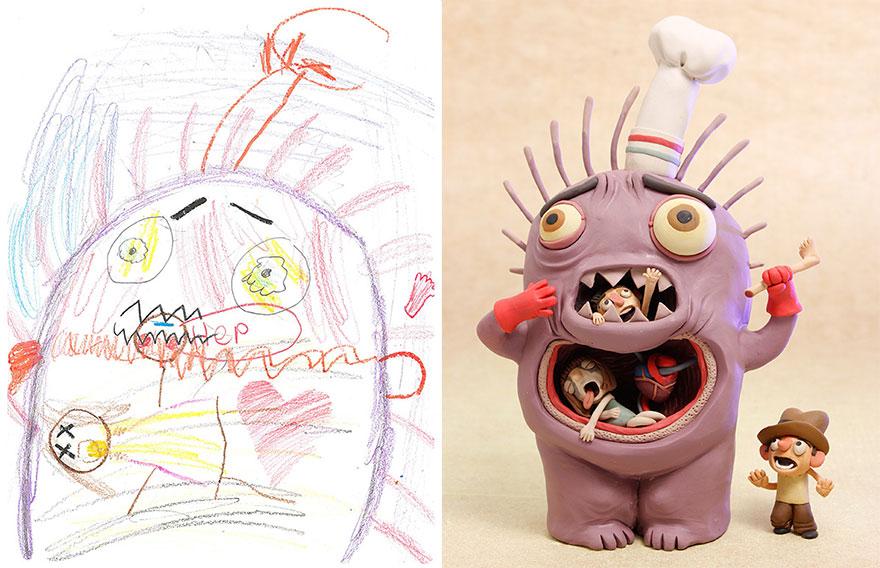 dibujos nenes 2