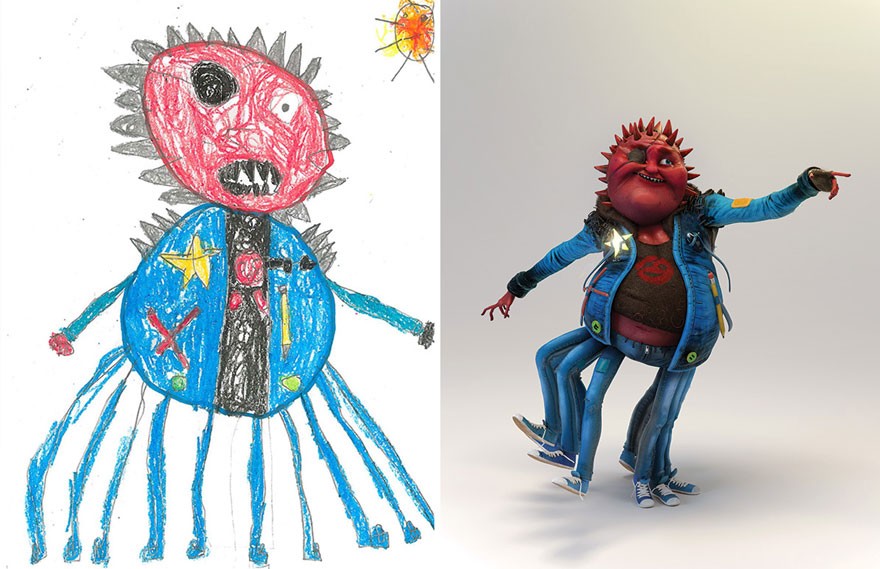 dibujos nenes 21