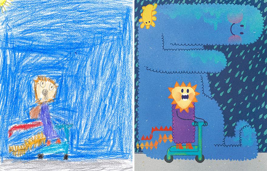 dibujos nenes 5