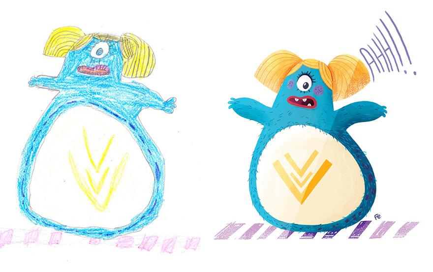 dibujos nenes 7