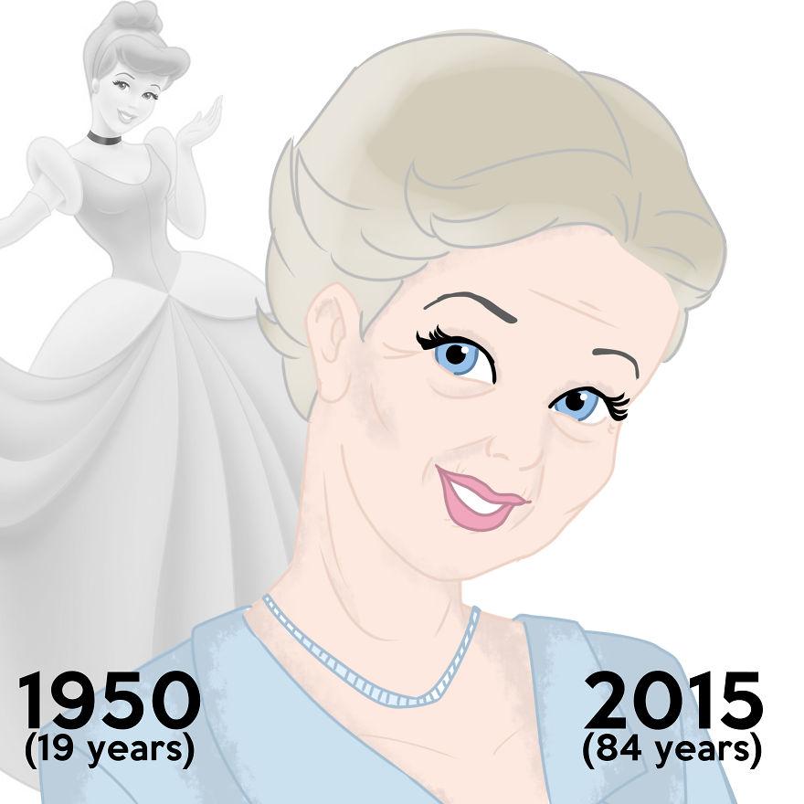 princesas Disney edad real 5
