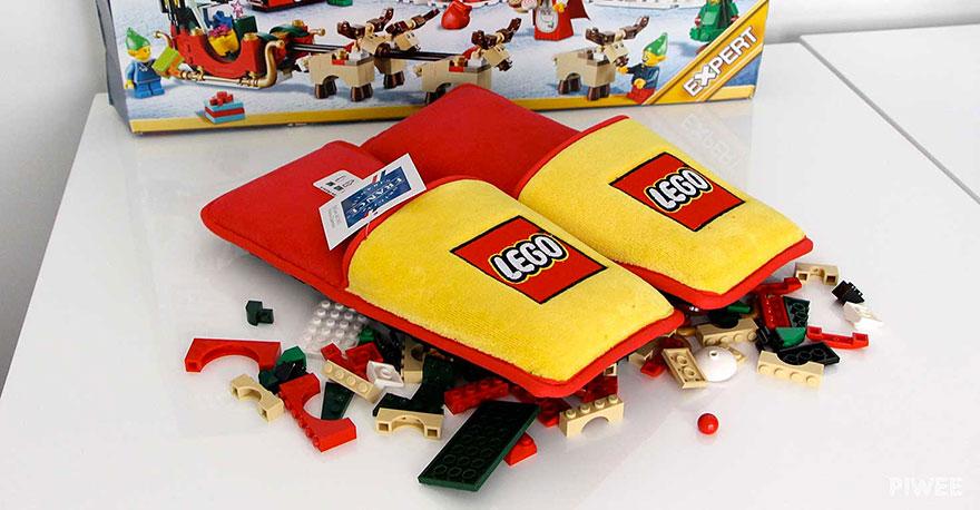 zapatillas LEGO para estar por casa 1