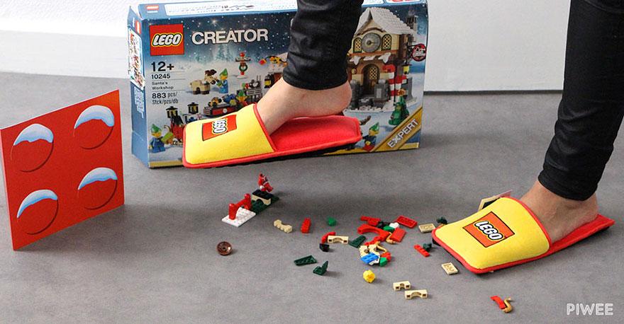 zapatillas LEGO para estar por casa 2