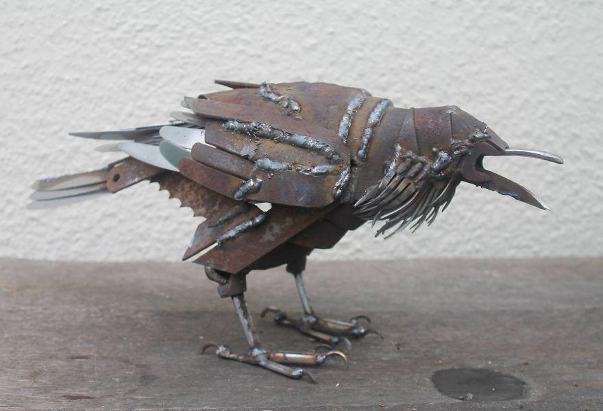 animales de metal 12