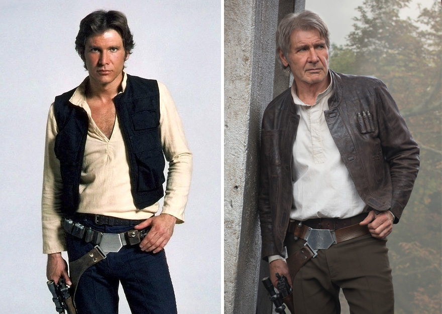 antes y ahora Star Wars 1