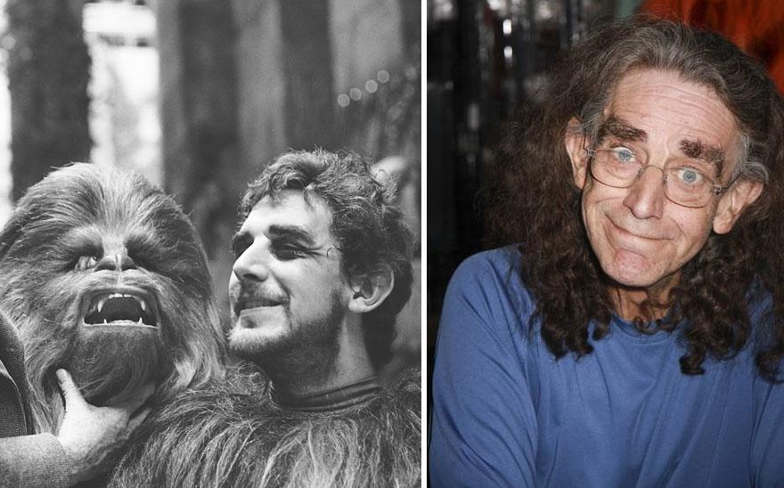 antes y ahora Star Wars 10