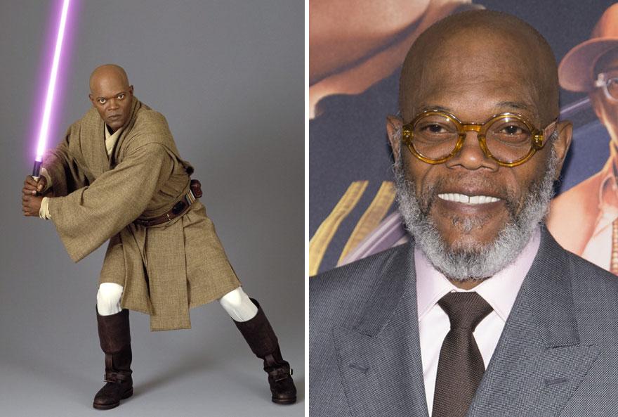 antes y ahora Star Wars 12