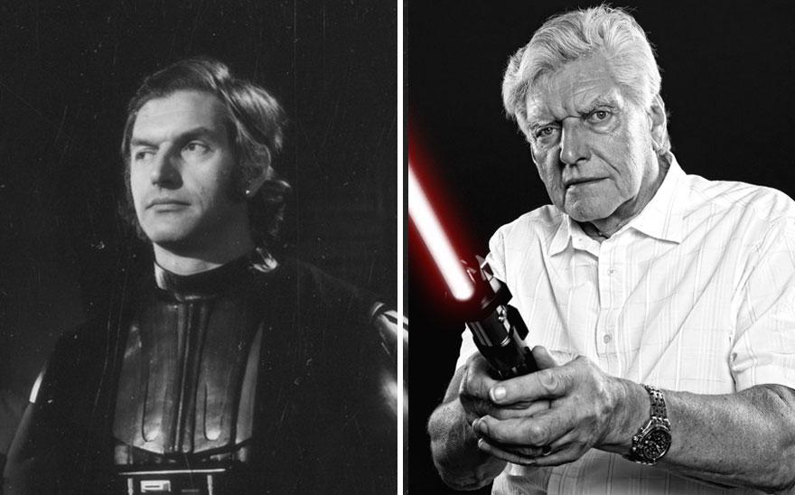 antes y ahora Star Wars 14