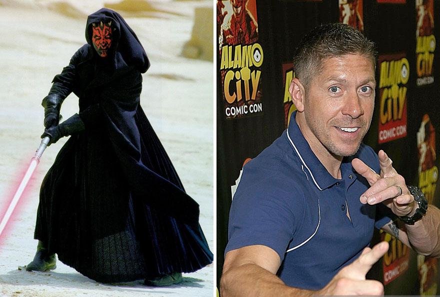 antes y ahora Star Wars 15