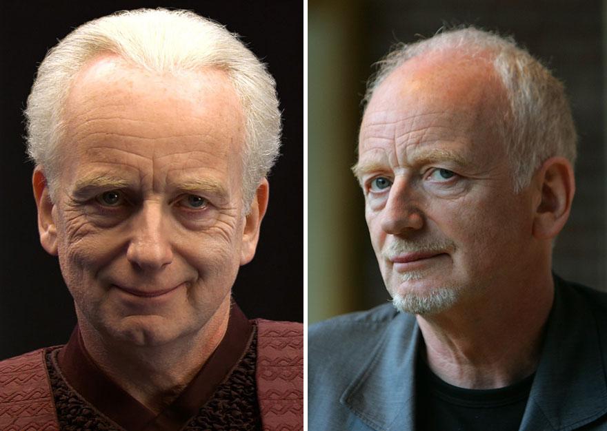 antes y ahora Star Wars 16