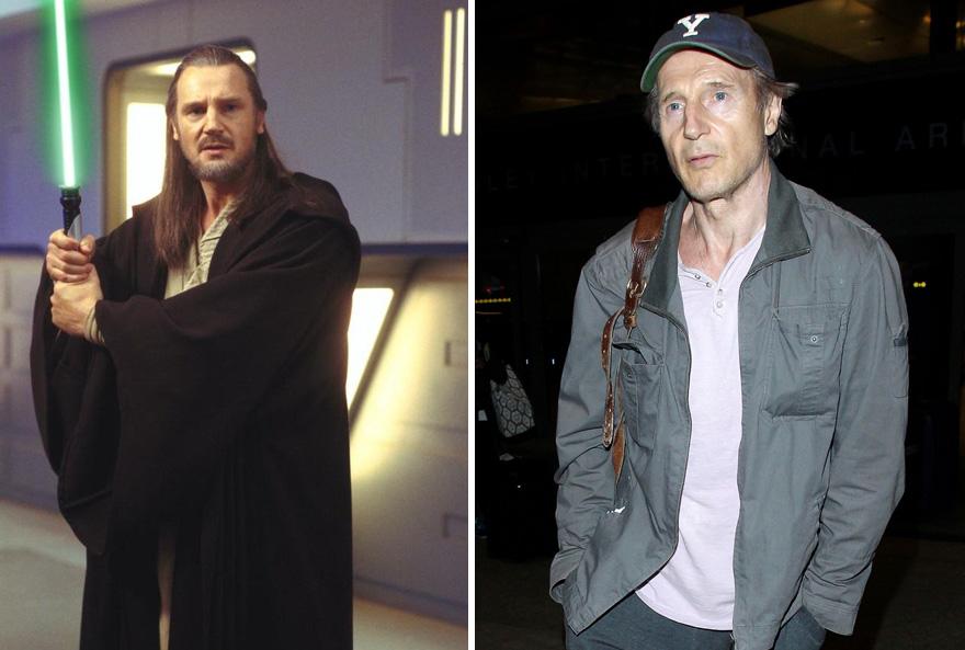 antes y ahora Star Wars 17
