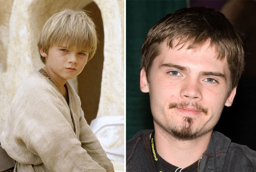 antes y ahora Star Wars 18