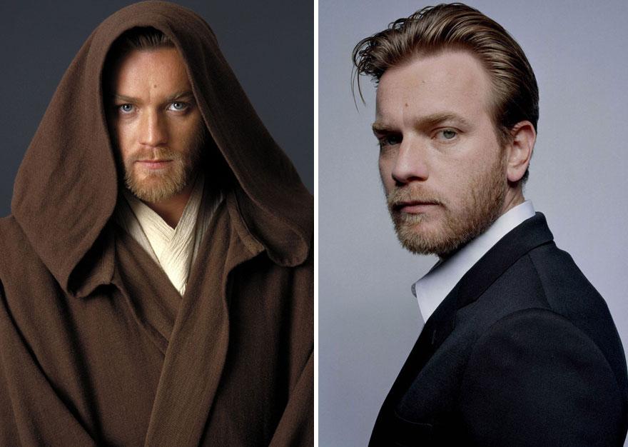antes y ahora Star Wars 2