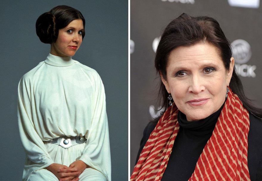 antes y ahora Star Wars 5