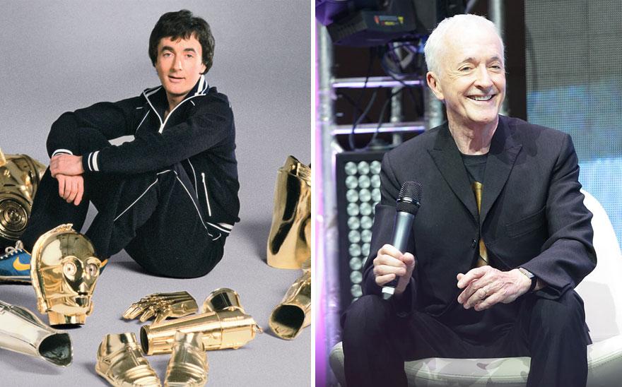 antes y ahora Star Wars 6