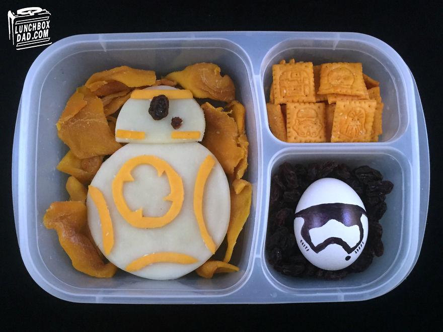 desayunos Star Wars 7