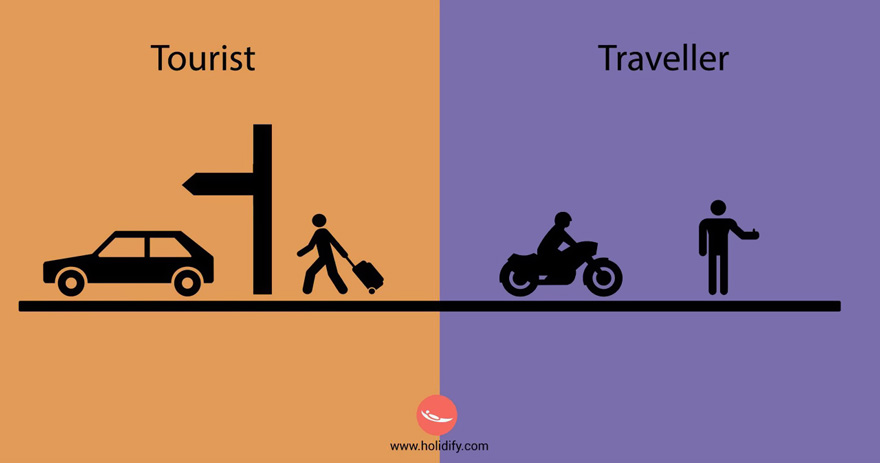 diferencias turista viajero 10