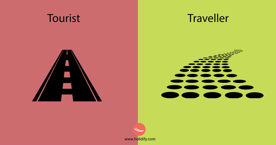 diferencias turista viajero 4