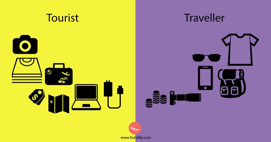 diferencias turista viajero 5