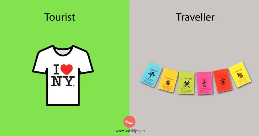 diferencias turista viajero 6