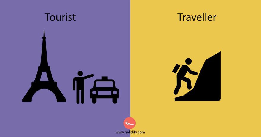 diferencias turista viajero 7