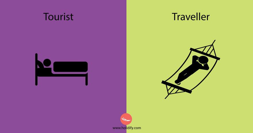 diferencias turista viajero 8