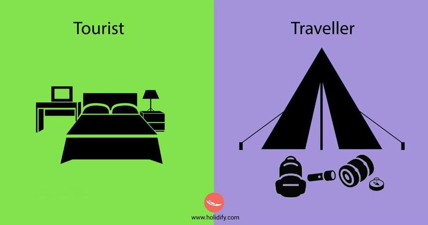 diferencias turista viajero 9
