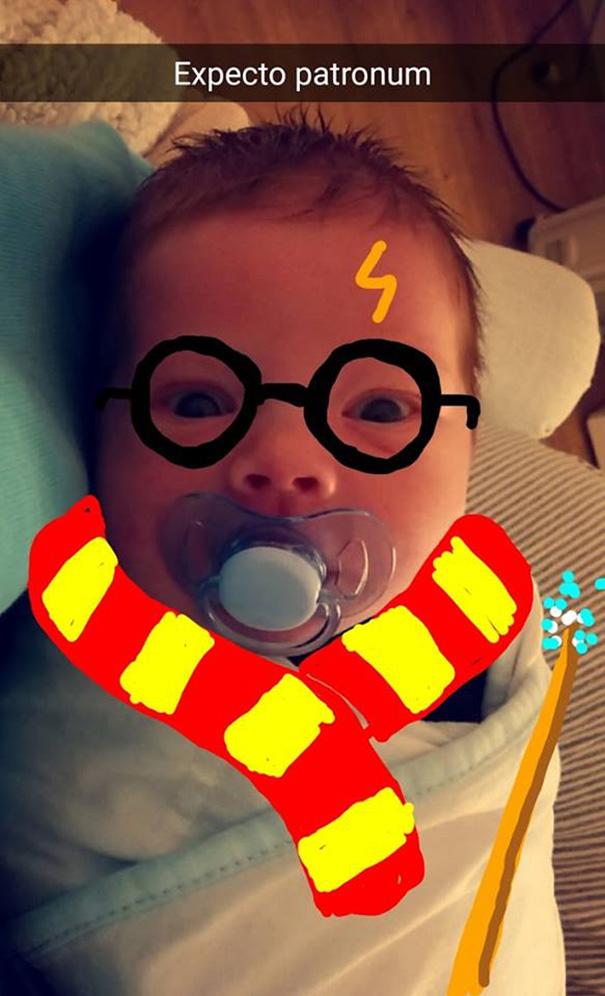 fotos divertidas bebe 2