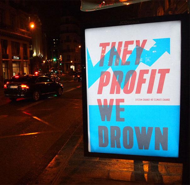 publicidad protesta COP21 11