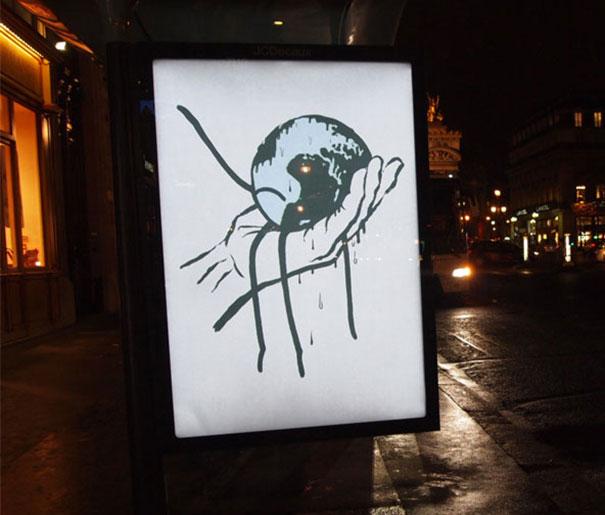 publicidad protesta COP21 13