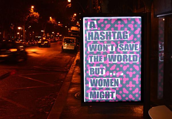 publicidad protesta COP21 15