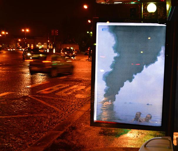 publicidad protesta COP21 20