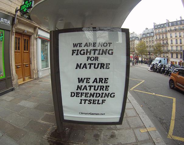 publicidad protesta COP21 9