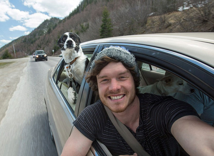 selfies con animales 7