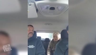 susto en el coche