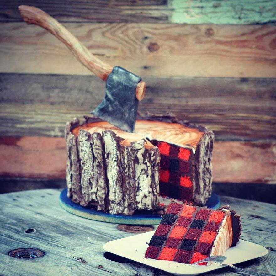 tarta de lenador 1