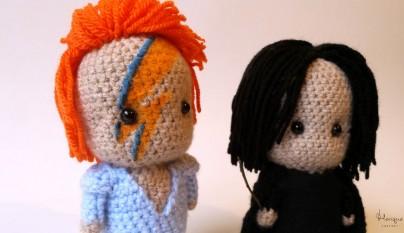 David Bowie y Alan Rickman 2