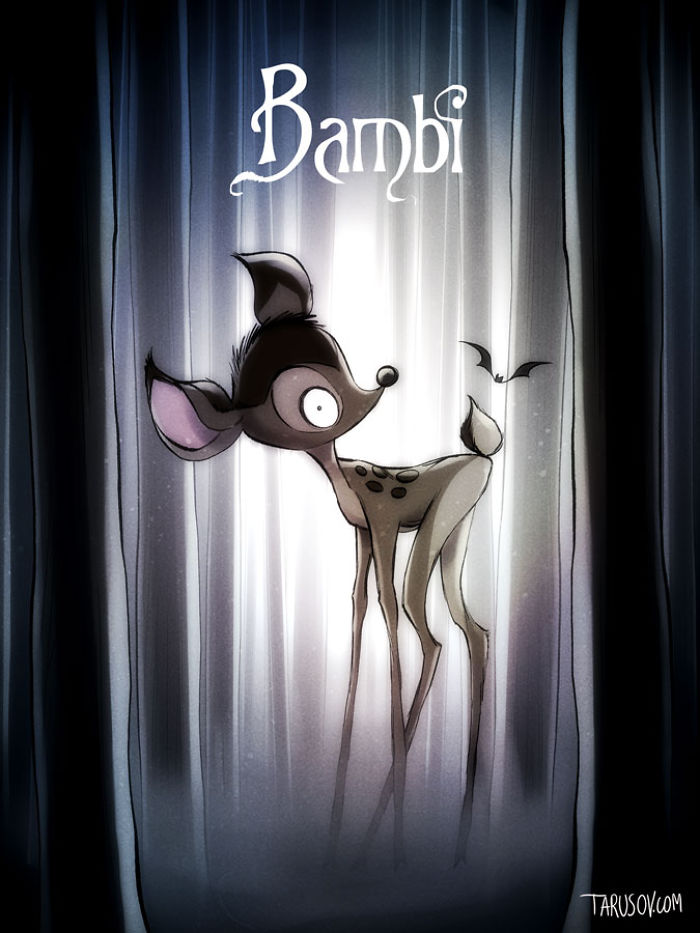 Disney Tim Burton 4