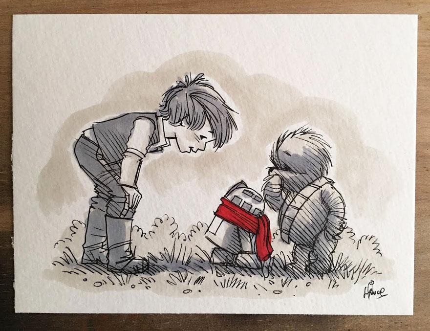 Star Wars Winnie the Pooh 1